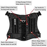 IronSeals Tactical Service Dog Vest Water-Resistant...
