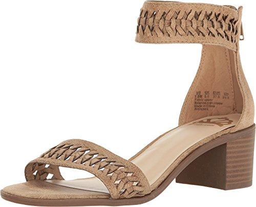 Fergalicious Women's Phoenxi Dress Sandal, Beige, 7.5 M US