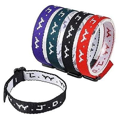 Rhode Island Novelty WWJD Adjustable Bracelets Pack of 24: Toys & Games