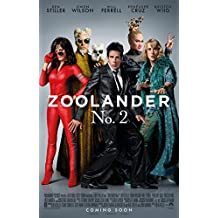 ZOOLANDER 2 MOVIE POSTER 2 Sided ORIGINAL INTL FINAL 27x40 BEN STILLER OWEN WILSON