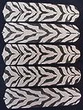 zebra ceiling fan blades - Ceiling Fan Designers 52SET-ANI-ZS New AFRICAN SAFARI ZEBRA SKIN 52 Ceiling Fan BLADES ONLY