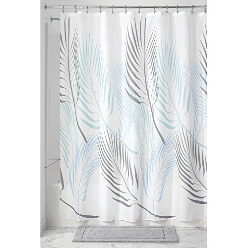 "InterDesign Fern Soft Fabric Shower Curtain - 72"" x 72"", ..."