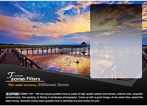 撮影写真用 减光 樹脂製 NDフィルタ ND2/ND4/ND8/ND16対応 収納バッグ付き - nd8