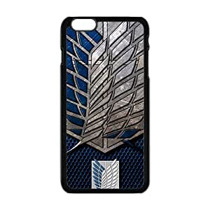 Cool Painting Attack On Titan Cell Phone Case for Iphone 6 Plus