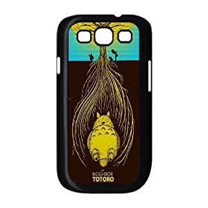 Qxhu TOTORO patterns Hard Plastic Back Protective case for Samsung Galaxy S3 I9300