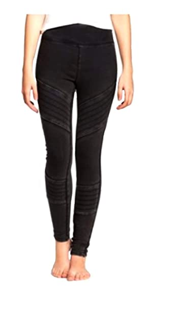 beedc34867c87 Mossimo High Waist Moto Pieced Legging - Washed Black (M). Roll over image  to zoom in. Mossimo Supply Co