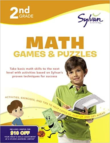 Math Games & Puzzles, Grade 2: Amy Kraft: 9780375430374: Amazon ...