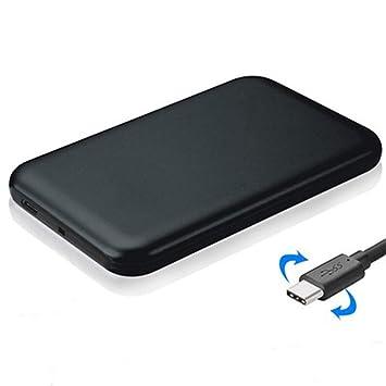 GKD 2,5 Pulgadas USB-C/C-Tipo de Interfaz SATA SSD Recinto, Ayuda ...