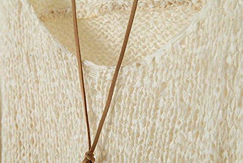 Otoño E Invierno Estilo Europeo Yardas Grandes Flojas Redondas Jersey De Cuello Suéter De Las Señoras Del Palo Hueco Suéter De Manga Purple