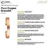 Copper Compression Pure Copper Bracelet for