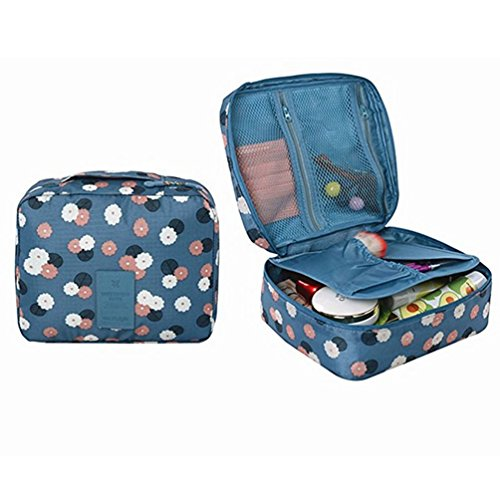 happytime-printed-cosmetic-makeup-bag-travel-toiletry-pouch-organizer-case-for-women-men-blue-daisy