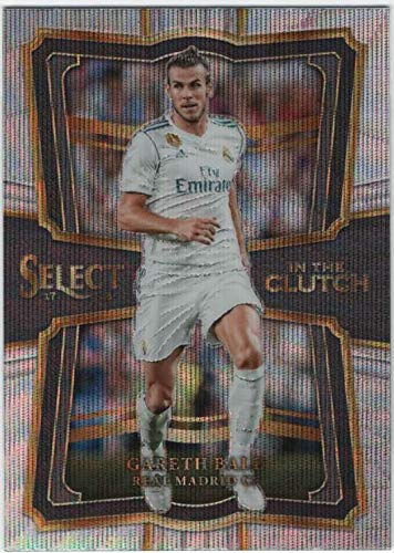 2017-18 Panini Select Soccer In the Clutch Insert #6 Gareth Bale
