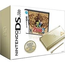 Nintendo DS Lite Gold with Legend of Zelda: Phantom Hourglass - Gold - Legend of Zelda: Phantom Hourglass bundle Edition