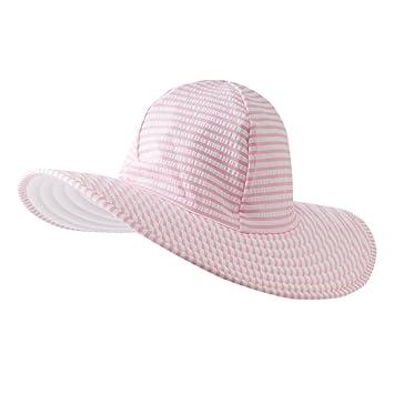 4e85d7732f2 ラッフルバッツ ベビー 帽子 子供用 シアサッカー スイム ハット Seersucker Swim Hat UPF50+ チェック (