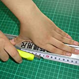 50Cm Professional Protection Ruler Aluminum Alloy Fuler Measurement Protective Ruler 50cm