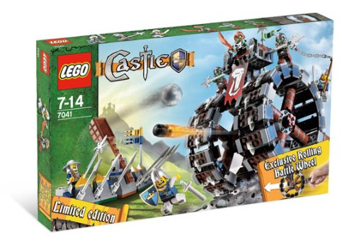 Lego Castle Exclusive Limited Edition Set #7041 Troll Battle Wheel