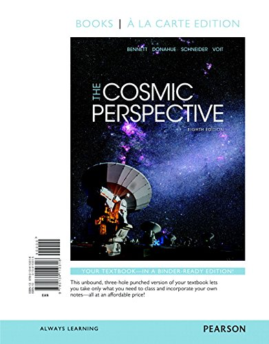 134160304 - Cosmic Perspective, The, Books a la Carte Plus Mastering Astronomy with Pearson eText -- Access Card Package (8th Edition)