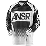 Answer Racing A17.5 Syncron Air Men's Off-Road Motorcycle Jerseys - Black/White/X-Small