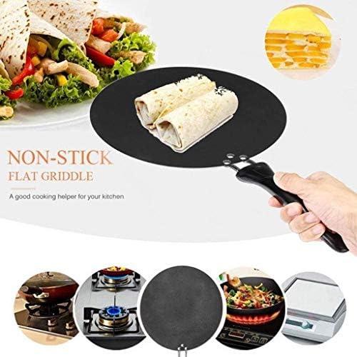 Noir Pan - antiadhésive Poêle, Batterie de cuisine avec poignée anti-échaudage à usage domestique JIAMING