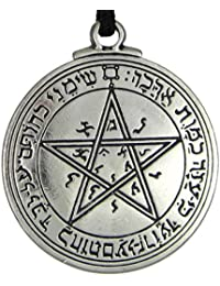 Talisman of Venus Love Pentacle Key of Solomon Seal Pendant Hermetic Enochian Kabbalah Pagan Wiccan Jewelry