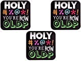 Holy Bleep You Are How Old? Birthday Party Dinner Plates 24ct