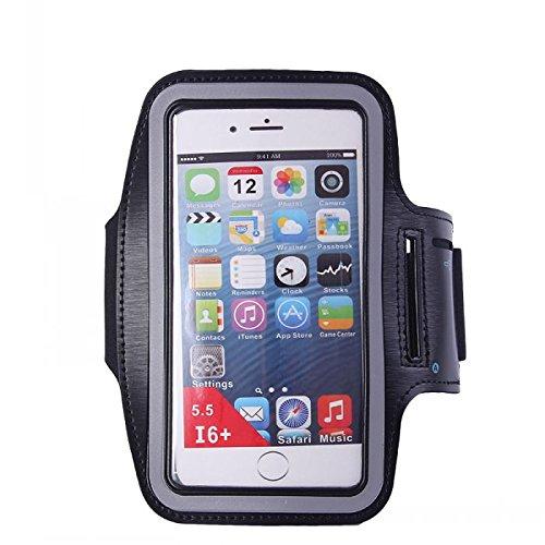 Sports Running Gym Waist Belt Bag Case for iphone 6 Plus 5.5 Black - 9