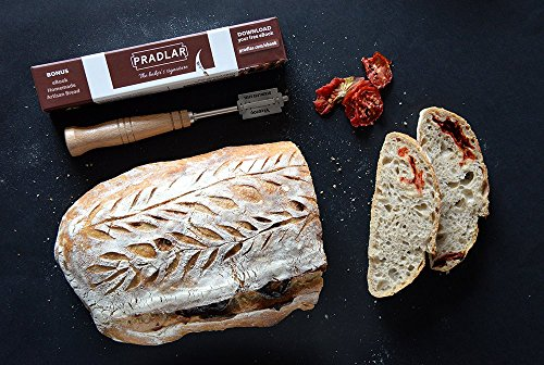 Baker's Premium Bread Lame - 6 Blades, Leather Protective Cover and Artisan Bread Bakers eBook Included - Top Quality Bread Scoring Tool by Pradlar by PRADLAR (Image #7)