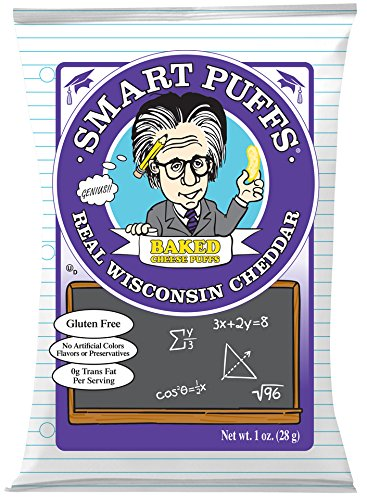 (Pirate's Brand Smart Puffs, Wisconsin Cheddar, 1 Ounce (Pack of 24))