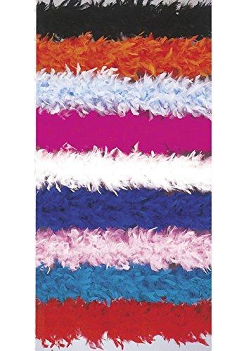 Two Tone Feather Boa Costume Accessory