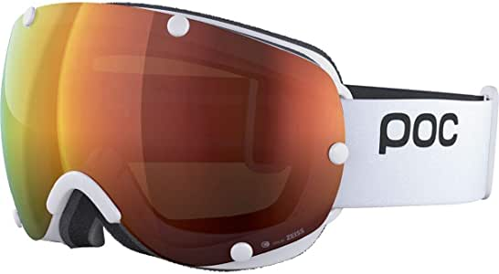 POC, Lobes Clarity Goggles for Skiing and Snowboarding with Extra Lens