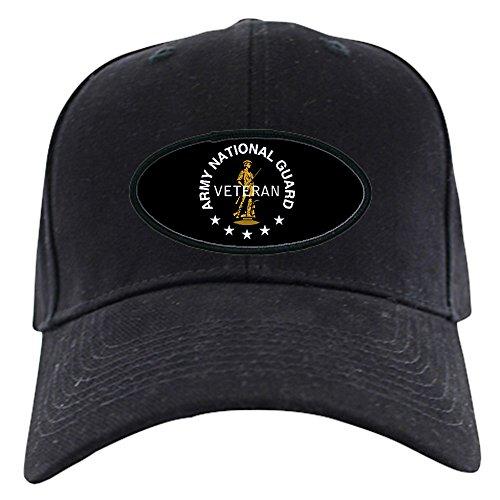 National Guard Veterans - CafePress - Army National Guard Veteran Black Cap - Baseball Hat, Novelty Black Cap