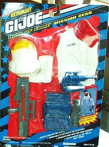 Joe Mission Gear Gi (G.I. Joe Hall of Fame Astronaut Mission Gear for 12