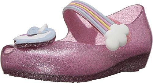 Mini Melissa Womens Mini Ultragirl Unicorn  Toddler Little Kid  Pink Sparkle 10