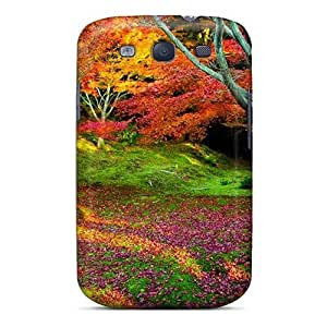 Hard Plastic Galaxy S3 Case Back Cover,hot Colorful Fall Day Case At Perfect Diy by icecream design