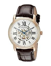 Stuhrling Original Men's Venezia Automatic Skeleton Watch Silver 1077.3345K2