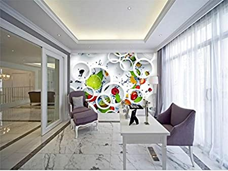 Yosot 3d Custom Modern Minimalist Photo Wallpaper Mural White Ring