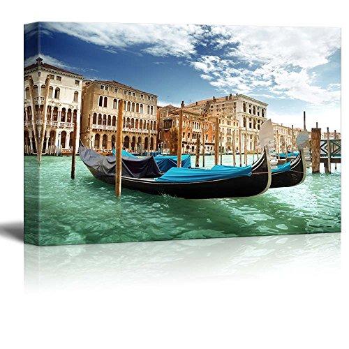 Beautiful Scenery Landscape Gondolas in Venice Italy Wall Decor ation