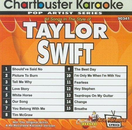 Amazon com: Chartbuster Karaoke CDG CB90341 - Taylor Swift
