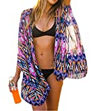 Yonala Summer Womens Beach Wear Cover up Swimwear Beachwear Bikini, Purple,One size