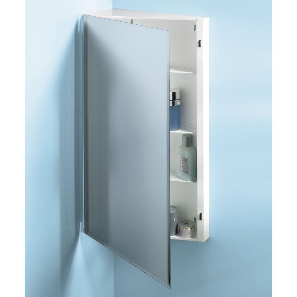 Jensen Medicine Cabinet Amazoncom Broan Nutone 867p36wh Corner Single Door Surface Mount