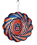 NCAA Auburn Tigers 10'' Geo Wind Spinner