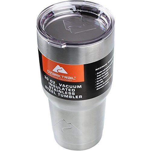 Ozark Trail Vacuum Insulated Powder Coated Stainless Steel Tumbler -  30 OZ