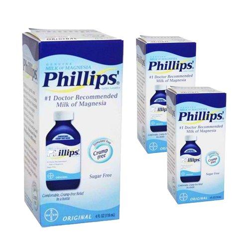 (Phillips Milk of Magnesia Original Sugar Free 3 Packs)
