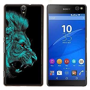 Queen Pattern - FOR Sony Xperia C5 Ultra - lion angry red eyes vampire animal cat jungle - Cubierta del caso de impacto con el patr???¡¯???€????€???&A