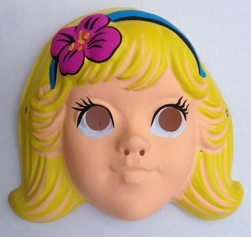 1992 Vintage Mermaid Storybook Collegville Imagineering Child Halloween Mask
