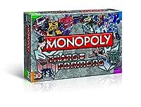Winning Moves 43492 - Monopoly Transformers retro, Geschicklichkeitsspiel
