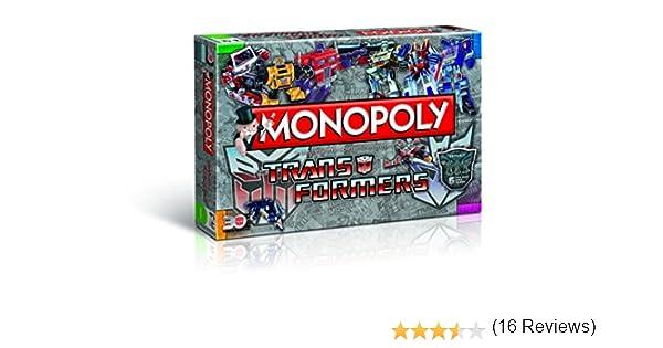 Ganar Moves 43492 - Monopoly Transformers Retro, Juego de Habilidad: Amazon.es: Juguetes y juegos