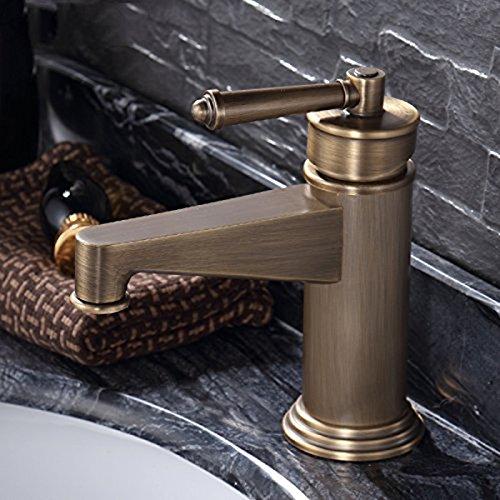 Details Zu QKRu0026Retro Wasserhahn, Bronze U2013 Europäische Antike Kupfer U2013  Becken Wasserhahn Heißes Und Kaltes Zuschauern Becken Bad Badezimmer  Waschbecken ...