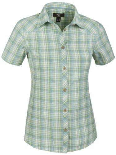 SALEWA Shirt Shira Dry Short Sleeve - Camisa / Camiseta para mujer verde