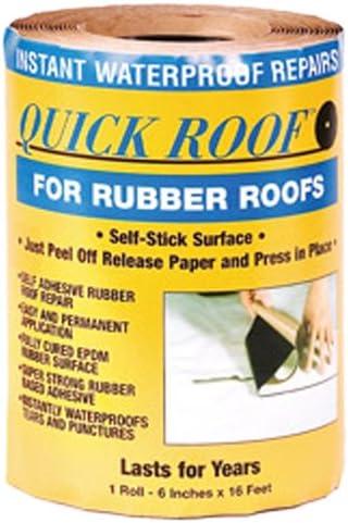 "B0006I0OSE Cofair RQR616 6""X16' Rubber Quick Roof Patch Kit 51z3N-VAPVL"